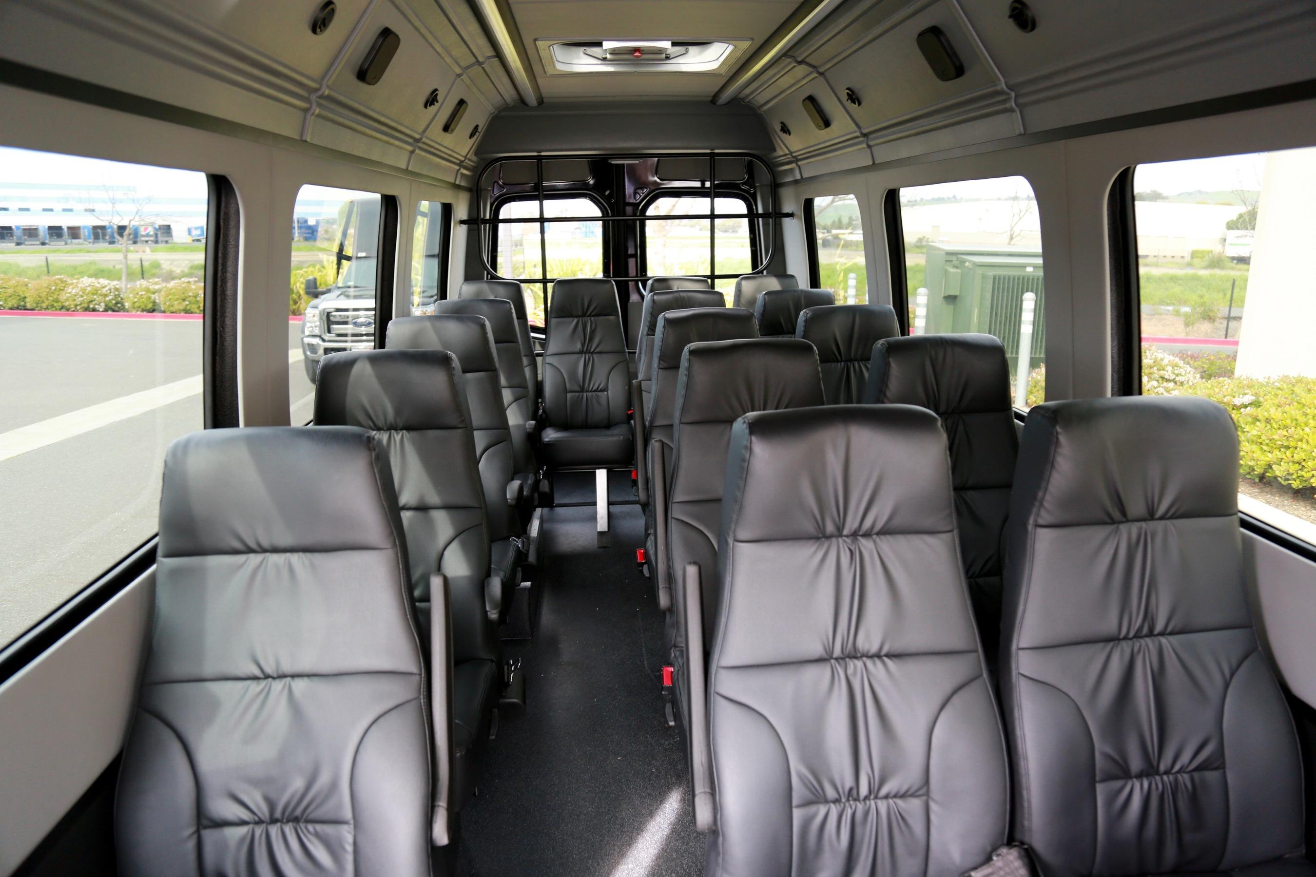 Luxury Mercedes Sprinter Mini Bus 16 Seater – Elite Limousine