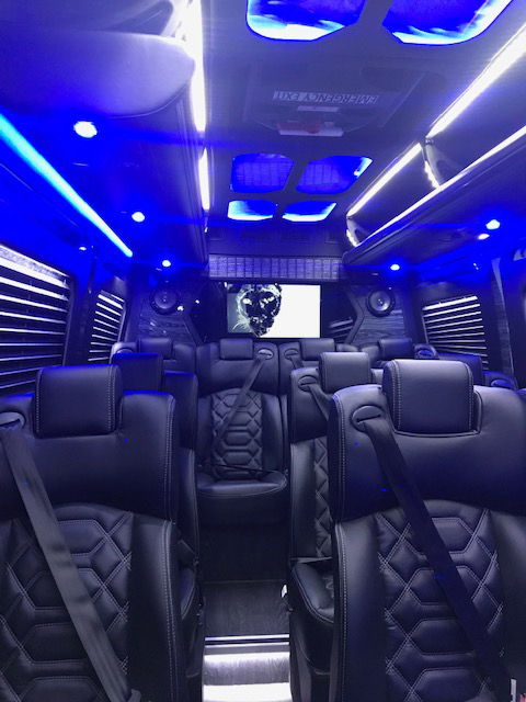 Stylish & Super Spacious Sprinter Van