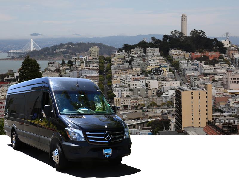 San Francisco City Tour in Luxury Sprinter Van