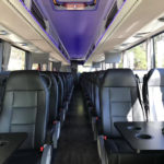 Luxury 55 Passenger Coach Bus with Amazing Interior