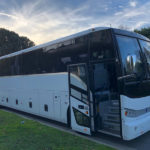 Clean, Spacious & Comfortable Coach Bus Seats upto 55 passengers